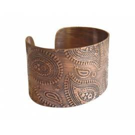 دستبند مسی بته جقه کد13