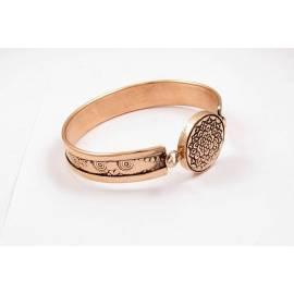 دستبند مسی نقش اسلیمی کد31